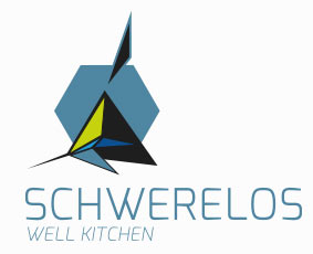 """Schwerelos - Well Kitchen""-Logo"